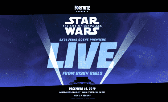 Fortnite Will Preview The New Star Wars Movie