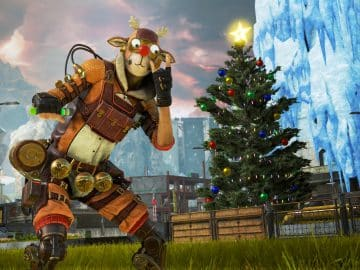 Mirage's Holo-Day Bash Event Apex Legends Christmas