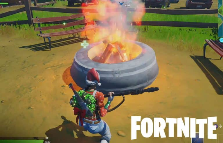 Stoke A Campfire Fortnite Location Guide [Winterfest Challenge]
