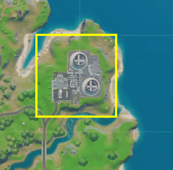 Where is the XP Drop Hidden in Fortnite