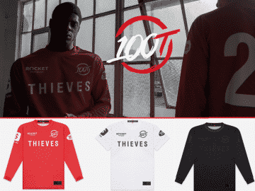 100 Thieves 2020 Jersey Is Revealed