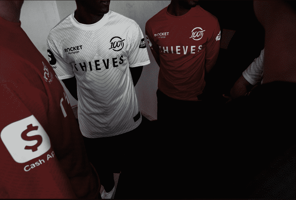 100 Thieves New Esports Jersey For 2020