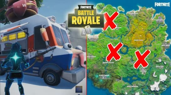 All Fortnite Food Truck Locations