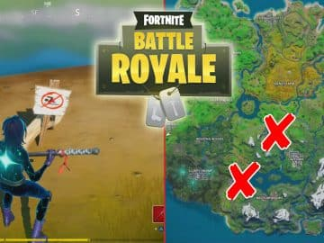 All Fortnite No Swimming Signs Locations