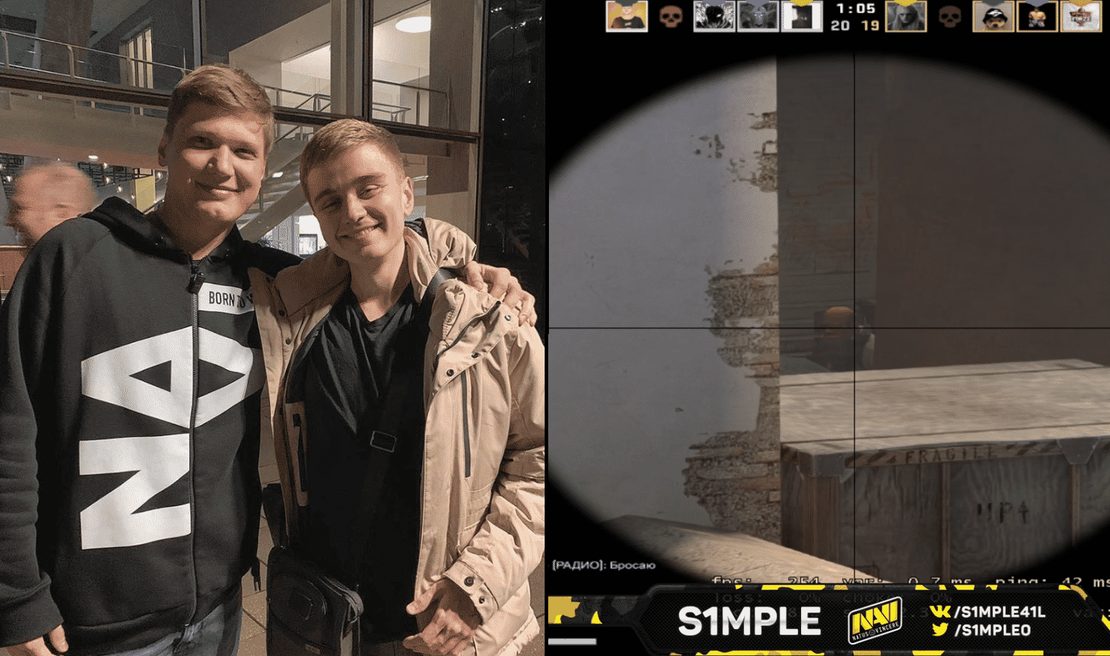 Best CSGO player in the world, s1mple, continues to amaze us