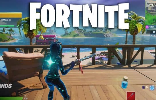 Bounce On Bouncy Fortnite Objects In Different Matches Locations