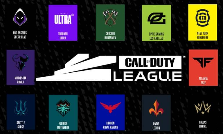Call of Duty League 2020 Guide Teams, Matches, Schedule Updates Esports CDL