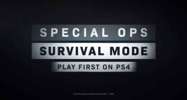 Call of Duty Modern Warfare Battle Royale Might Be PS4 Exclusive