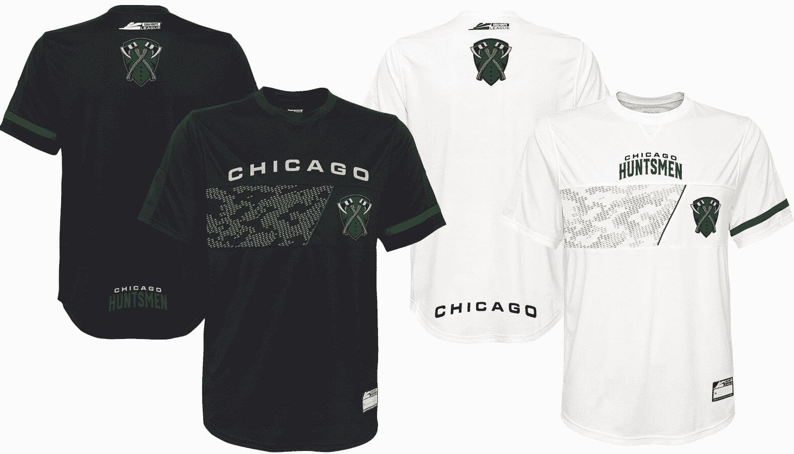 Chicago Huntsmen Jersey Call of Duty League 2020 Esports