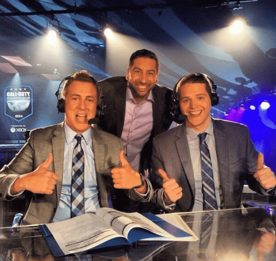 Chris Puckett Call of Duty League Esports Commentator