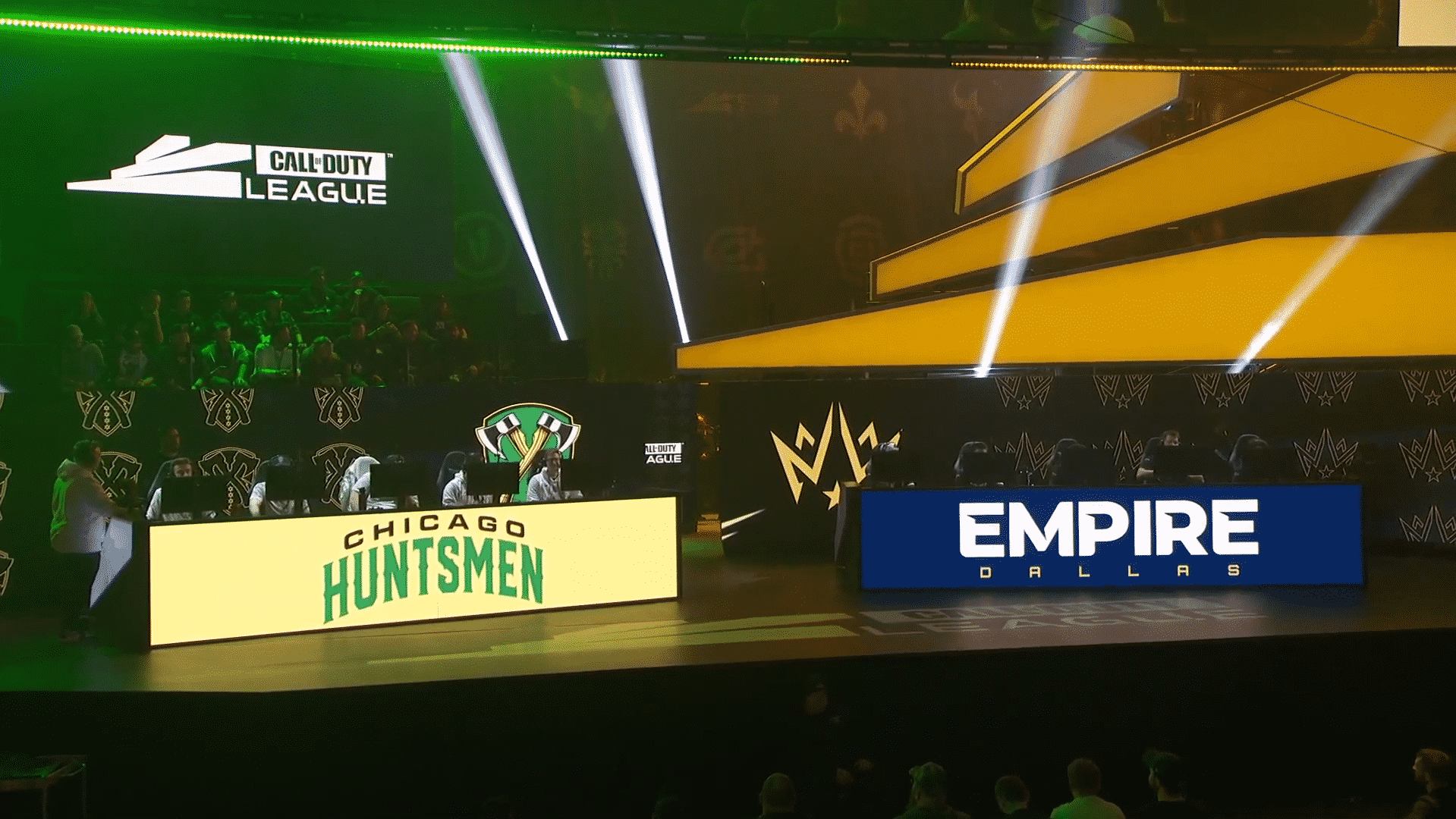 Dallas Empire versus Chicago Huntsmen