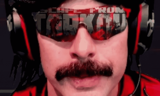 Dr Disrespect Escape From Tarkov Rage