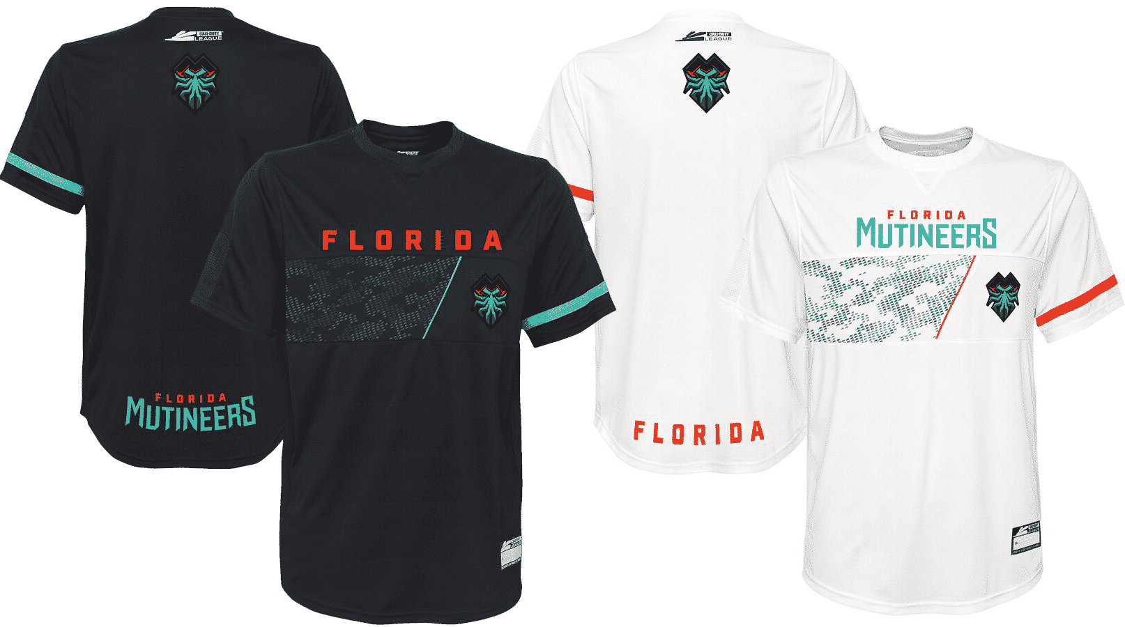 Florida Mutineers Jersey Call of Duty League 2020 Esports
