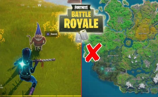 Fortnite Hidden Gnome At Fancy View, Wooden Shack, Big House Locations