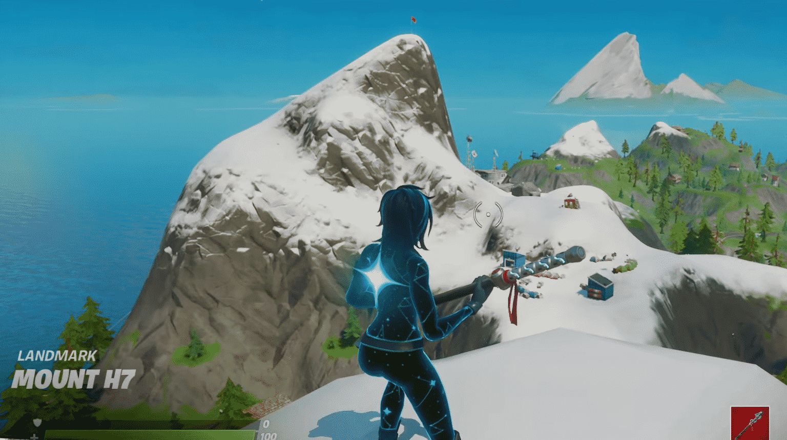 Fortnite Mount H7, Mount F8 and Mount Kay Locations