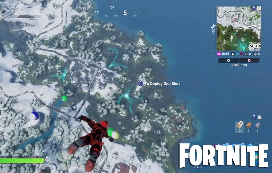Fortnite Snow Is Melting Already