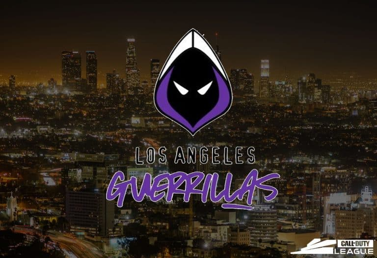 Los Angeles Guerrillas - Call Of Duty League Esports Team