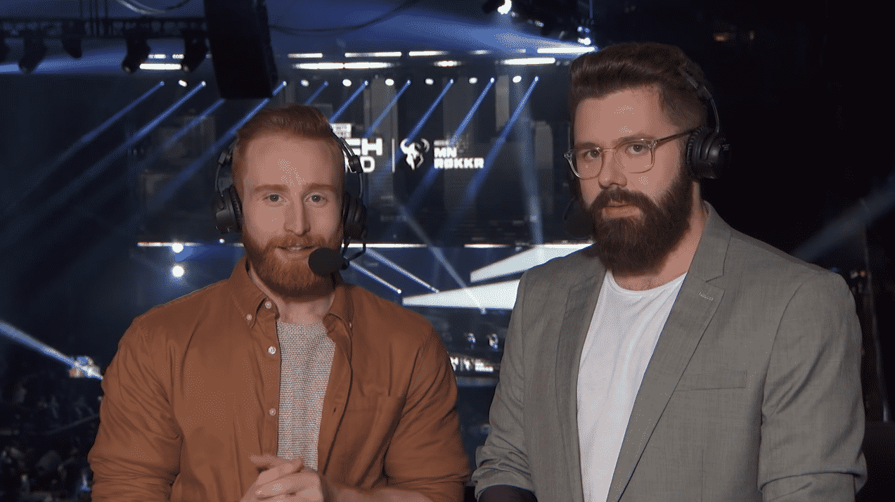 Miles Ross Miles Philip Whitfield Momo CDL Caster esports