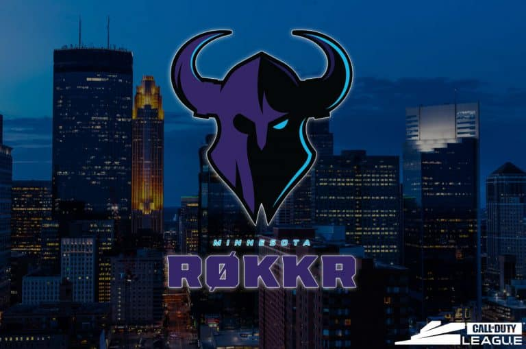 Minnesota Rokkr - Call Of Duty League Esports Team