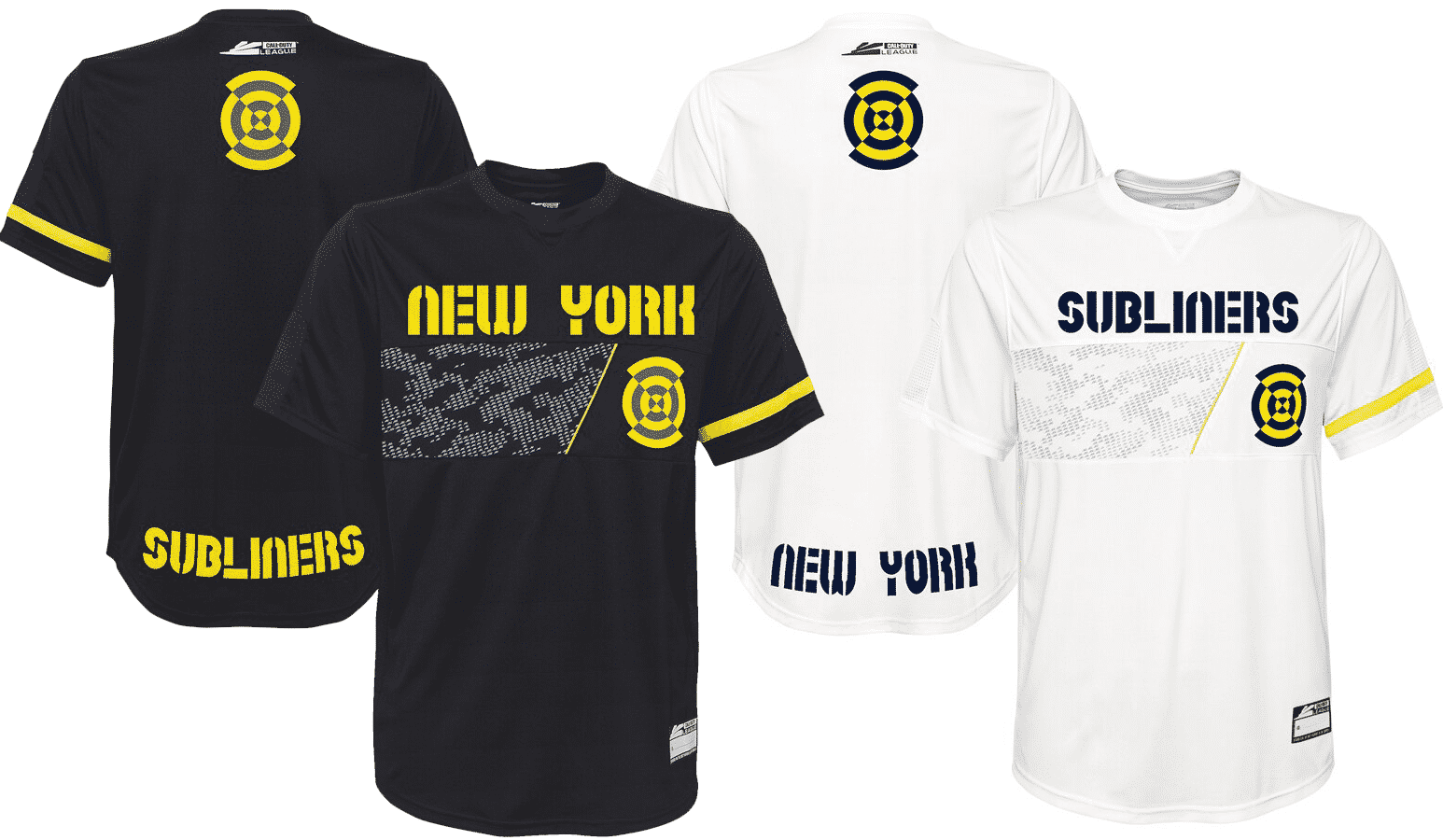 New York Subliners Jersey Call of Duty League 2020 Esports