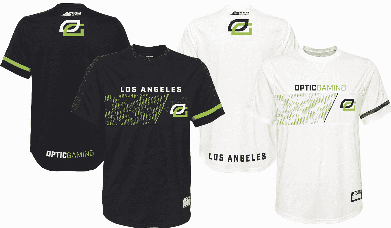 OpTic Gaming Los Angeles Jersey Call of Duty League 2020 Esports