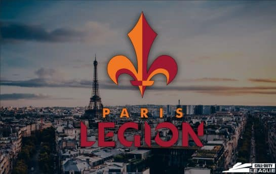 Paris Legion - Call Of Duty League Esports Team