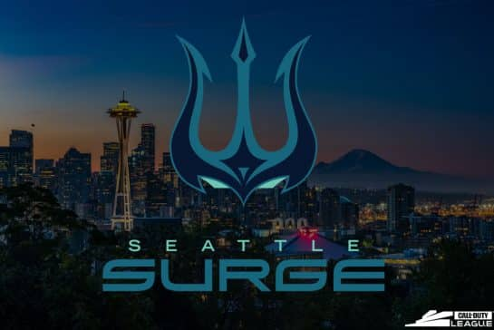 Seattle Surge - Call Of Duty League Esports Team