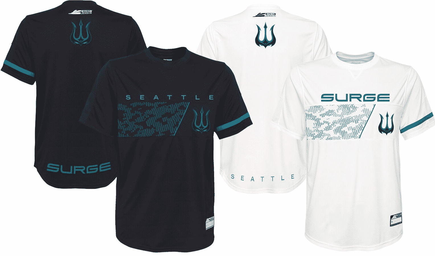 Seattle Surge Jersey Call of Duty League 2020 Esports