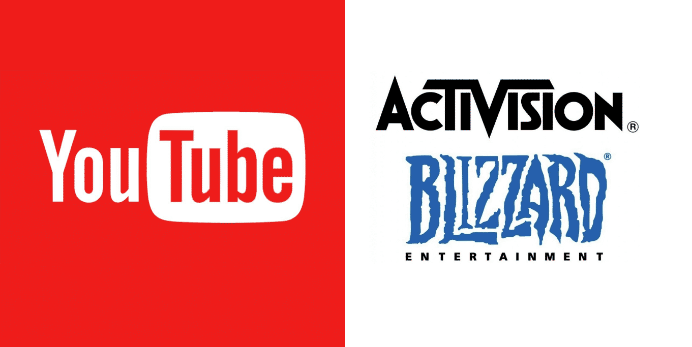 Youtube and Activision Exclusive Deal Over Streaming Rights