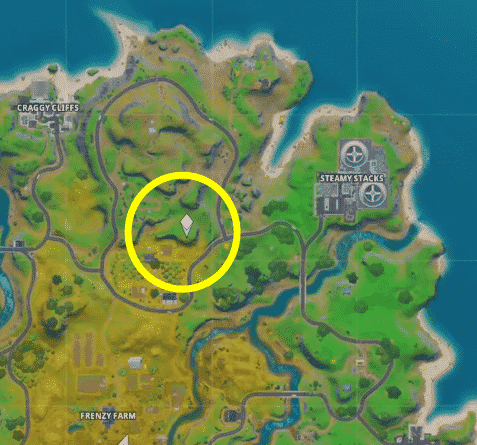 where is the gnome in Fortnite