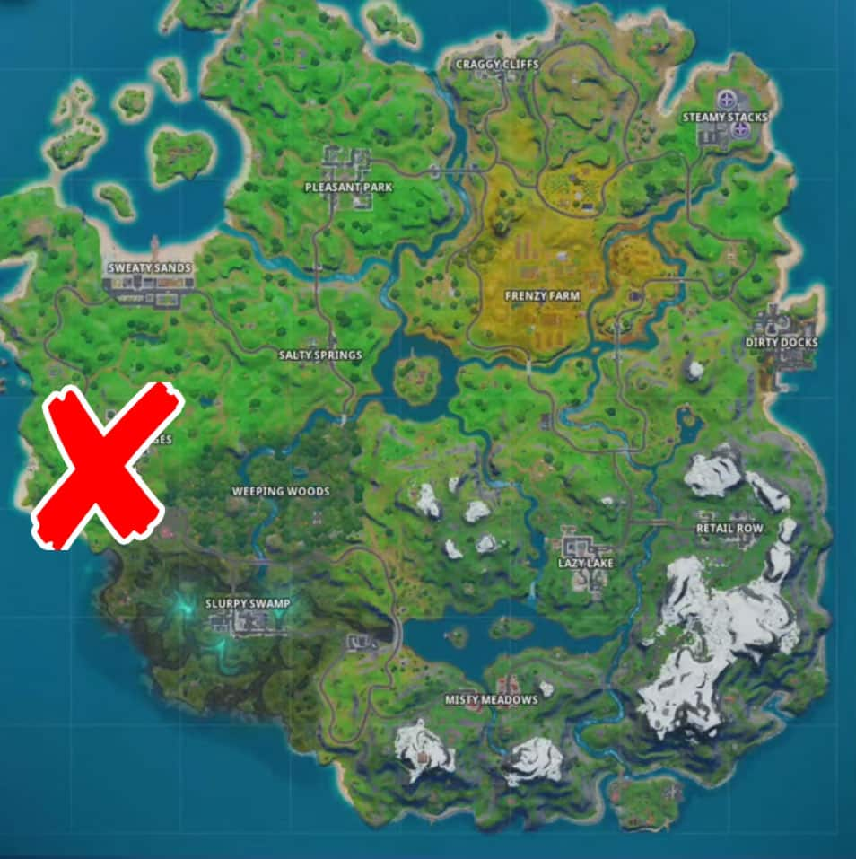 where is the hidden gnome in Fortnite