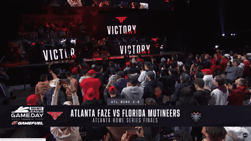 Atlanta FaZe Champions of CDL Atlanta Series Tournament esports