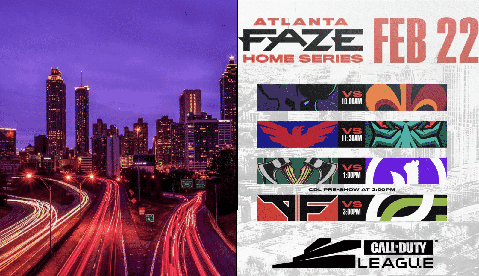 CDL Atlanta FaZe Home Series 2020: Schedule, Teams and Updates - Game Life