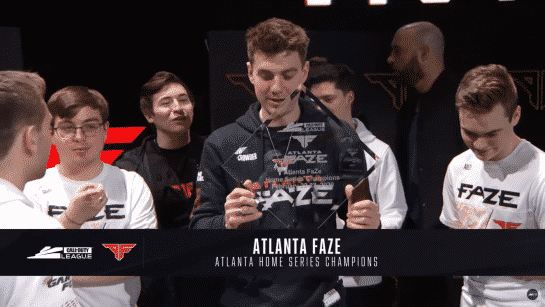 CDL Atlanta Home Series Winners - Atlanta FaZe