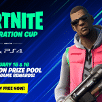 Fortnite Celebration Cup will be available only on PS4
