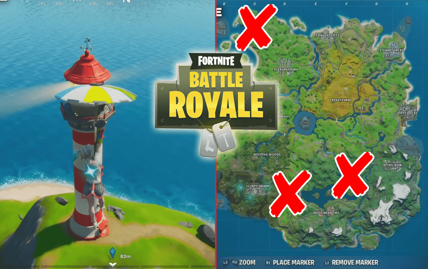 Fortnite Lockie Lighthouse, Apres Ski, Mount Kay Locations ...