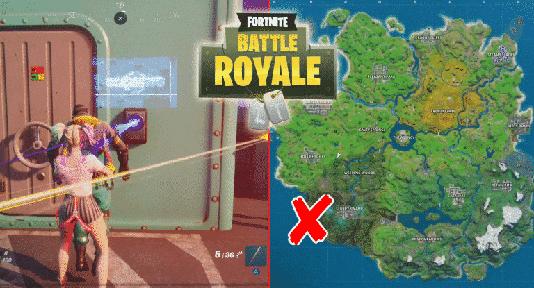 Fortnite Open Doors Locked by Fortnite ID Scanner in Different Matches