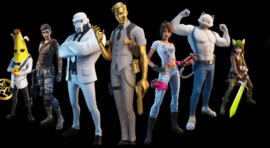 Fortnite_Chapter_2_Season_2_Battle_Pass character skins