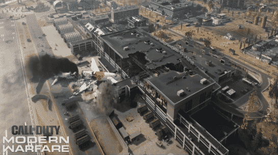 How big is the Call of Duty Warzone map
