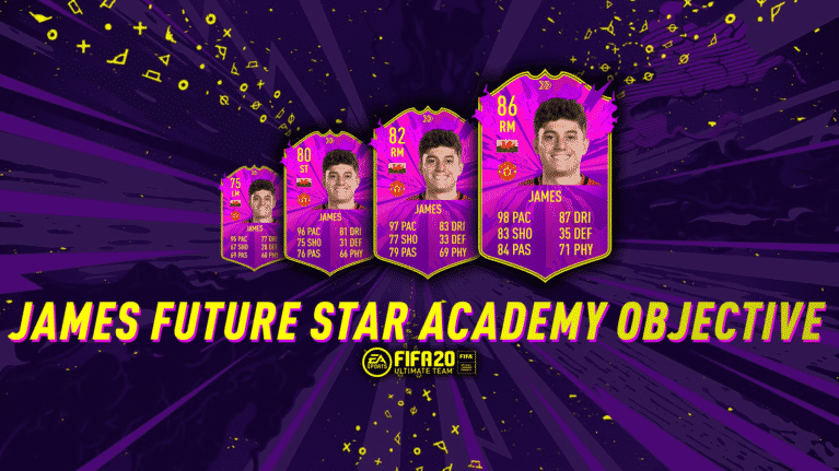 James Future Star Academy Objective Fifa 20