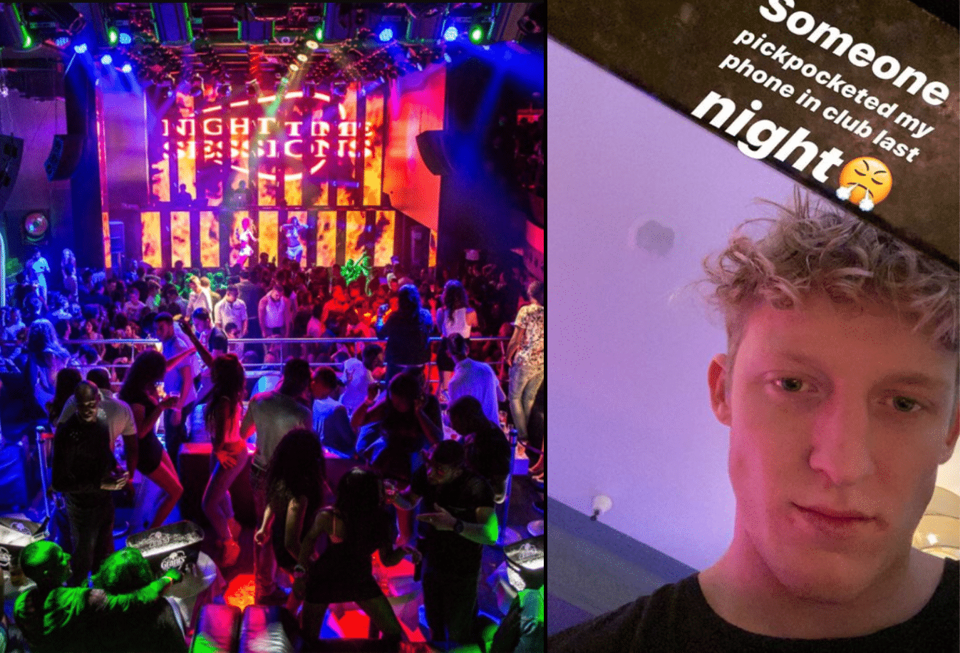 Tfue got pickpocketed in Miami Club after getting robbed a day earlier