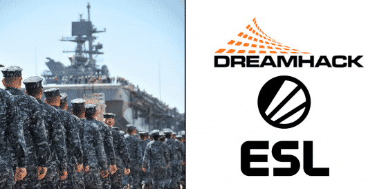 U.S. Navy enters into esports space with Dreamhack and ESL N.A paternship