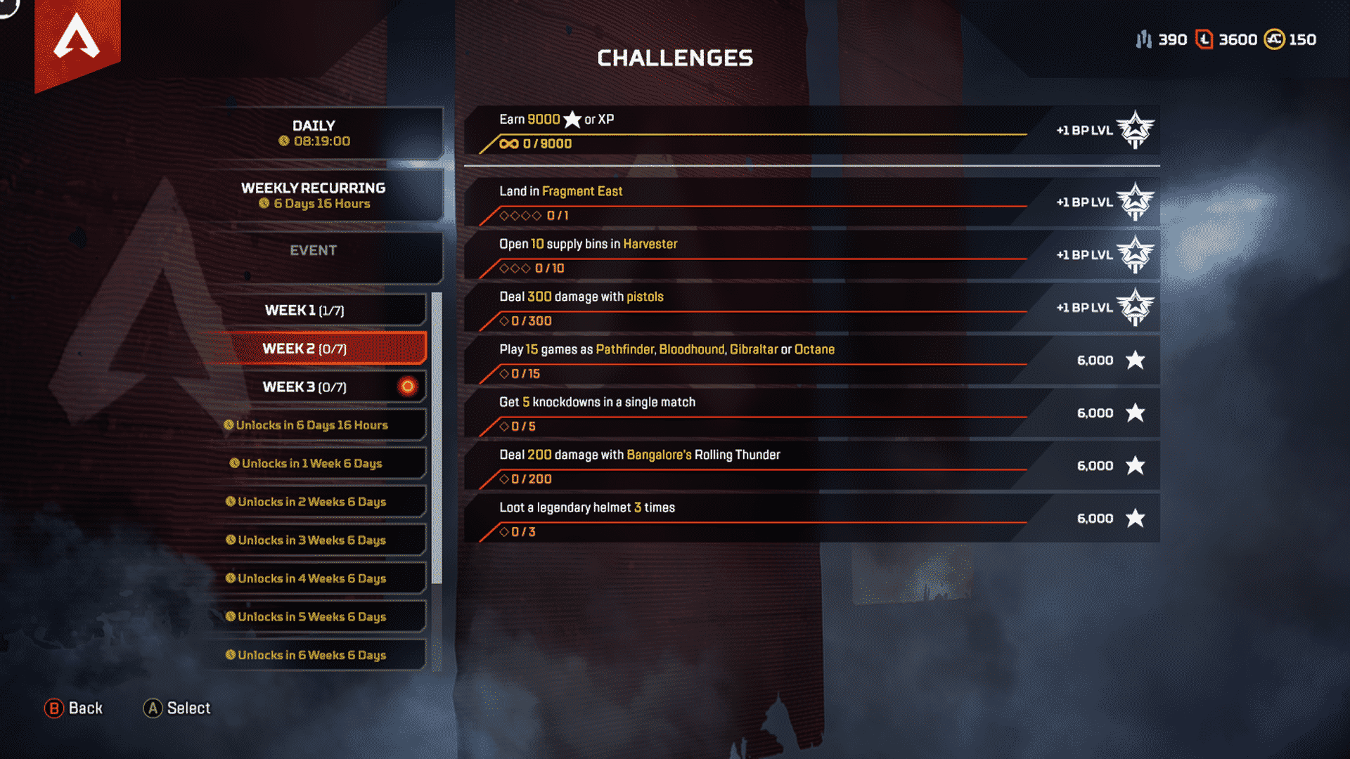 Week 2 Season 4 Challenges Assimilation Feb 11