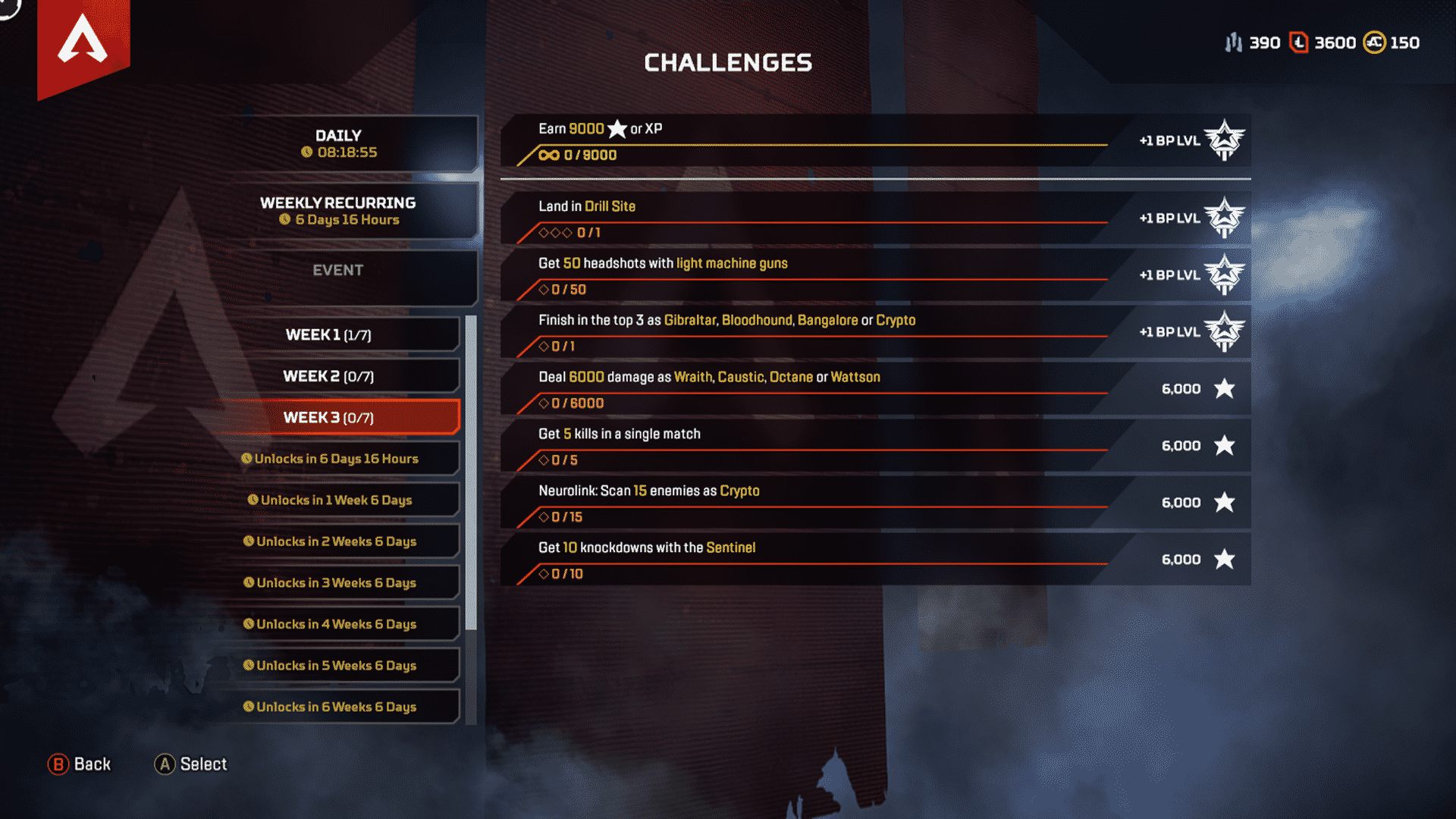 Week 3 Season 4 Challenges Assimilation Feb 18