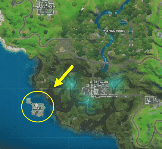 Where is the phone booth located in Fortnite