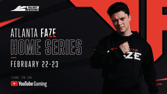 Where to watch the Call of Duty League Atlanta FaZe Home Series