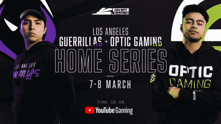 Where to watch the Call of Duty League Los Angeles Home Series