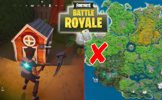 All Fortnite Dog Houses Locations