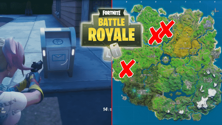 All Fortnite Ghost Dropboxes Locations