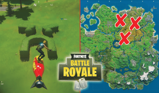 All Fortnite Grumpy Greens, Mowdown, and Risky Reels Locations
